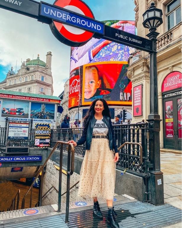 At London