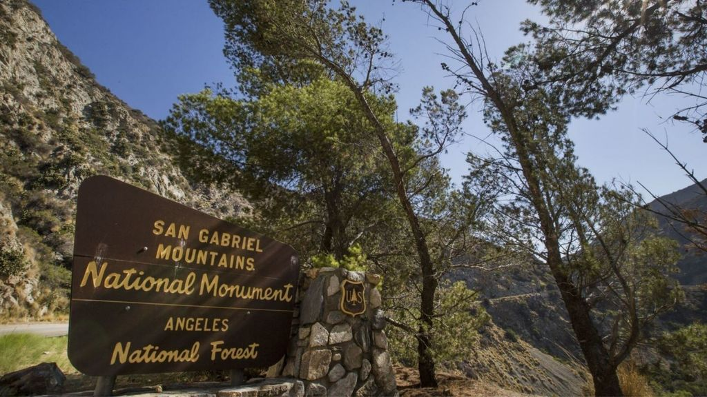 San Gabriel Mountains National Monument and Angeles National Forest