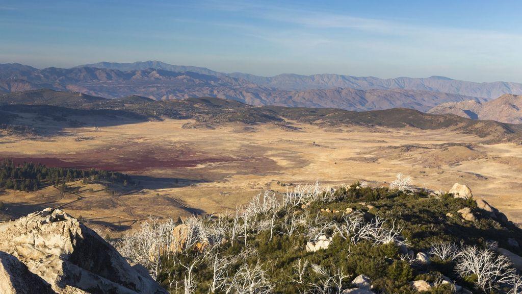 Stonewall Peak Summit Panorama in Rancho Cuyamaca State Park